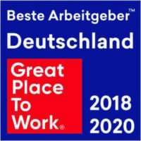Auszeichnung für den Sieg bei Great-Place-To-Work